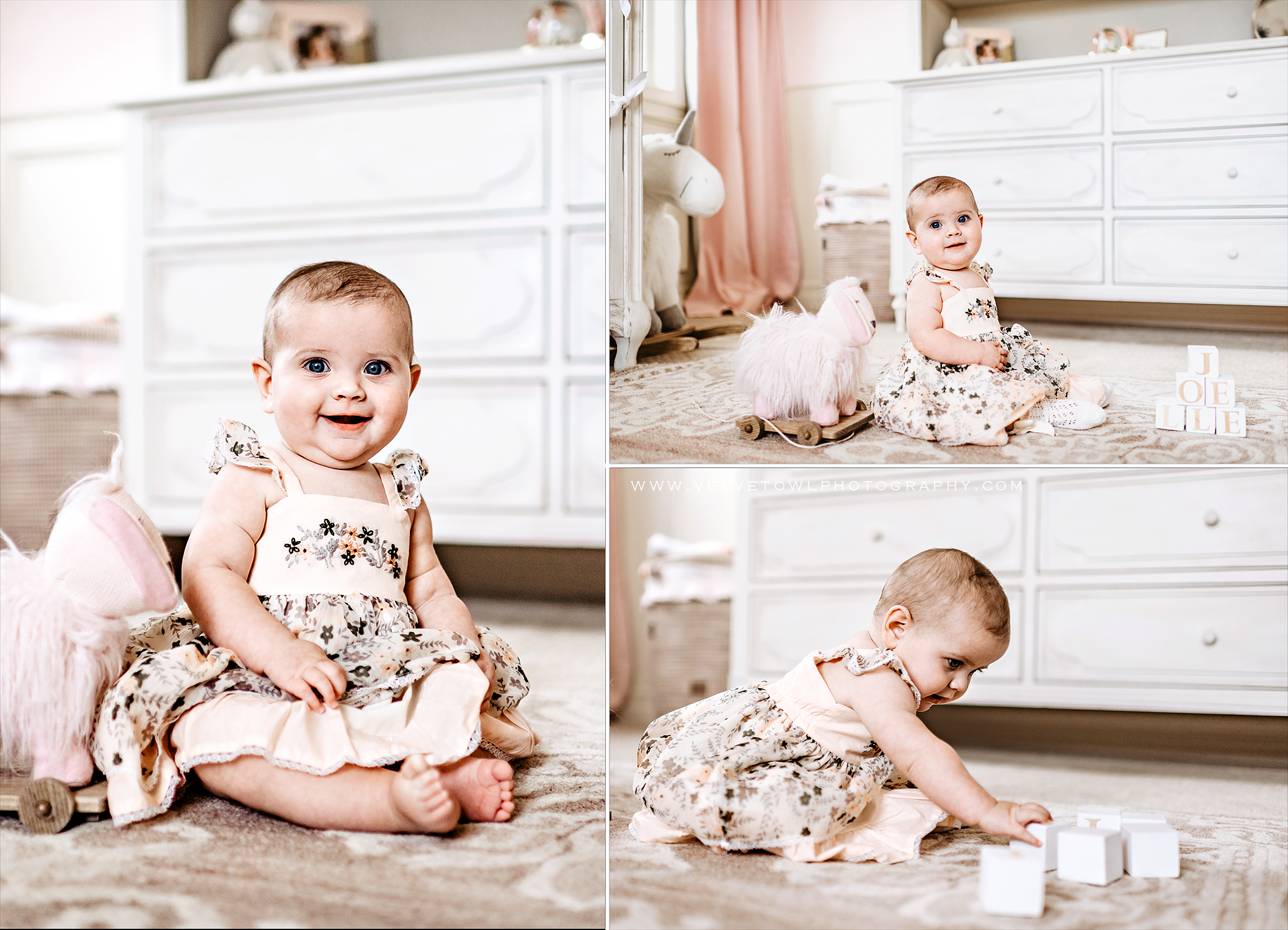JOELLE ROSE {6 months} :: Camas Washington Lifestyle Family Story